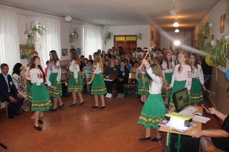 Прикарпатське село Камінь приймає школярів з Німеччини (фотофакт)