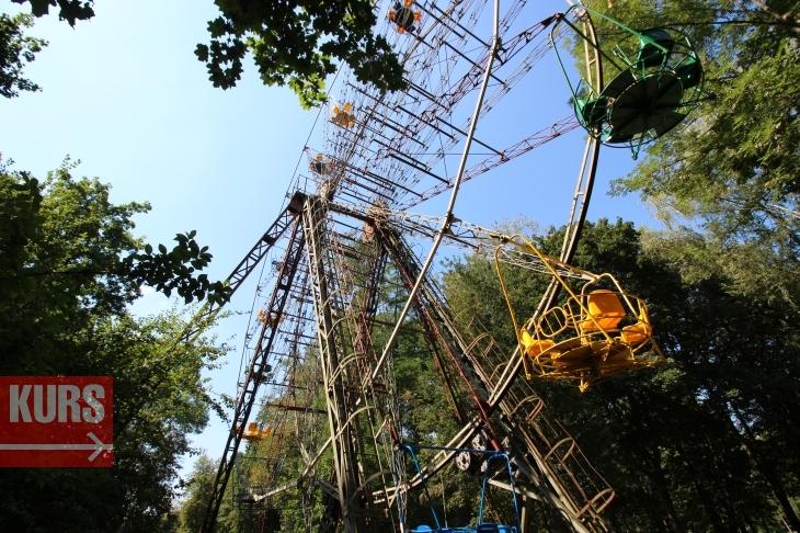 У Франківську в міському парку оновлять три атракціони