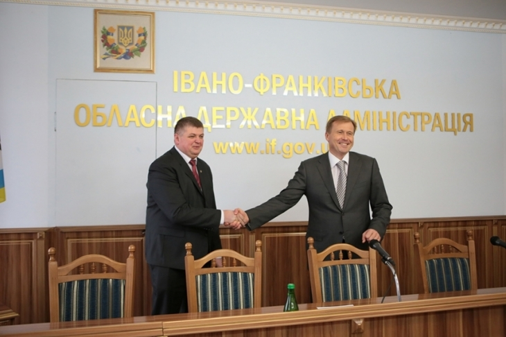 Керівник Івано-Франківської області отримав вже 6-го заступника (фоторепортаж)