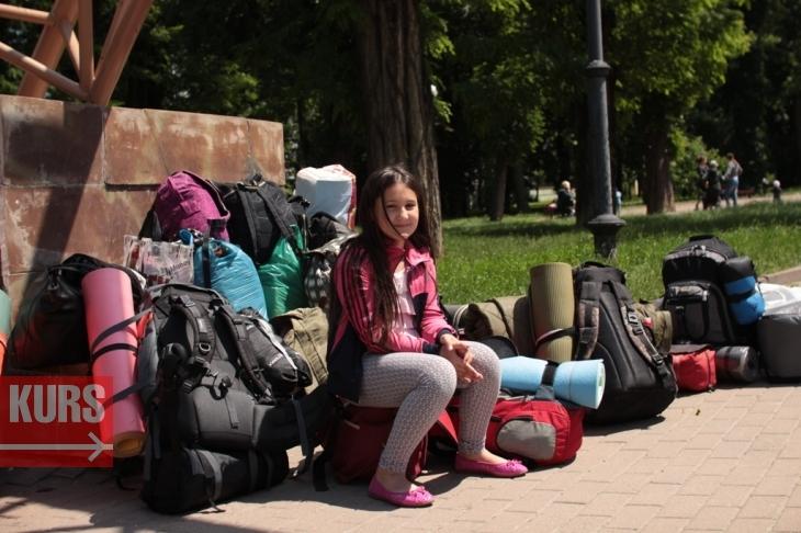 """Результат пошуку зображень за запитом """"Франківських школярів провели до табору """"Чорний ліс"""""""""""