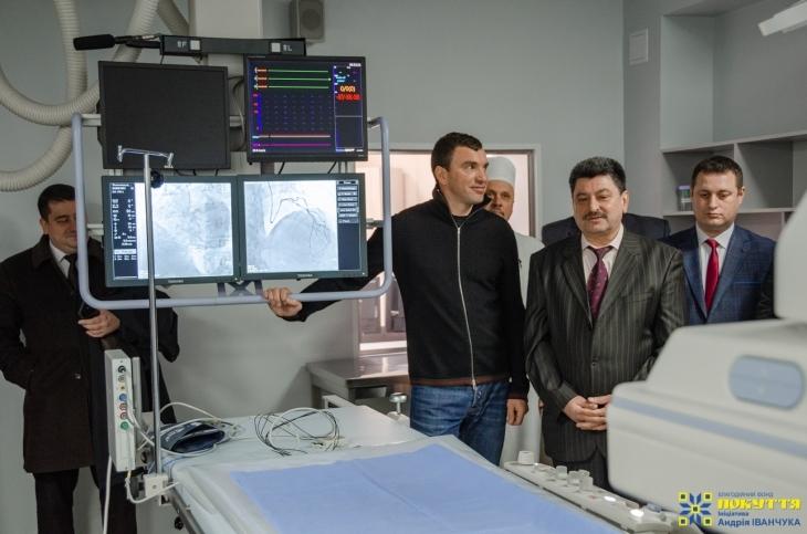 У Коломиї запустили унікальний апарат ангіограф для діагностики важких серцевих захворювань, отриманий за сприяння Андрія Іванчука. ФОТО 2