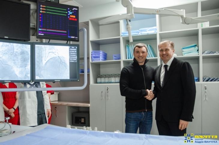 У Коломиї запустили унікальний апарат ангіограф для діагностики важких серцевих захворювань, отриманий за сприяння Андрія Іванчука. ФОТО 1