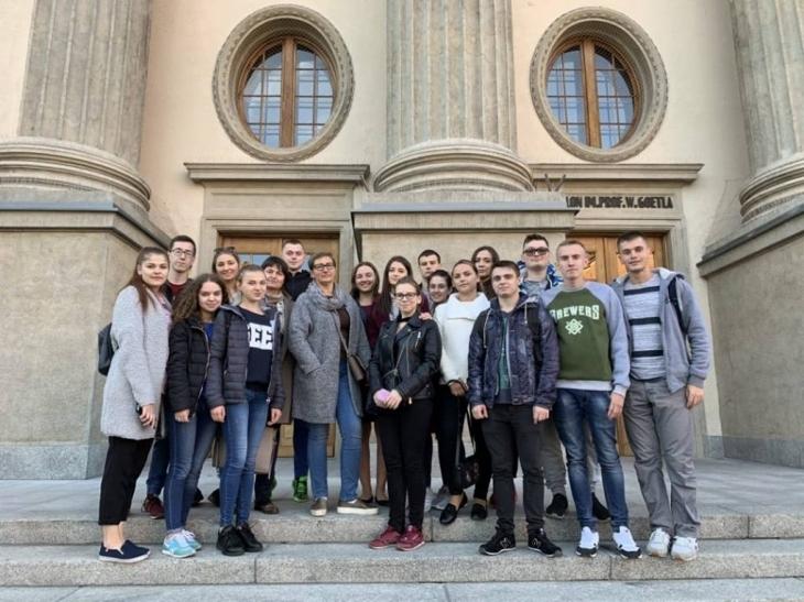 """Результат пошуку зображень за запитом """"Студенти ІФНТУНГ поїхали на безоплатне навчання до Кракова"""""""