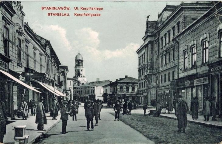 Станиславів крамниця Цукермана