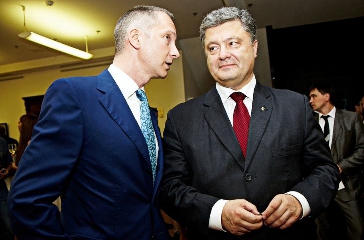 Борис Ложкін Петро Порошенко