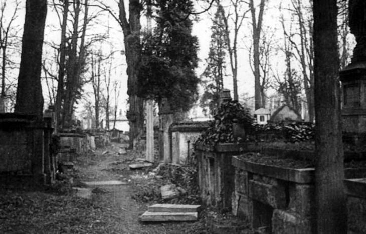 Міський цвинтар (зараз Меморіальний сквер).