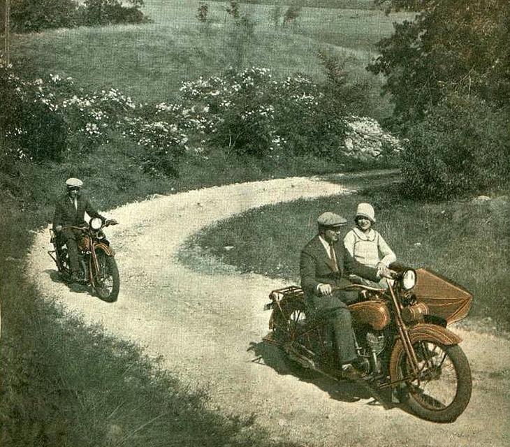 Станиславівські оголошення: мотоцикли старого міста 4