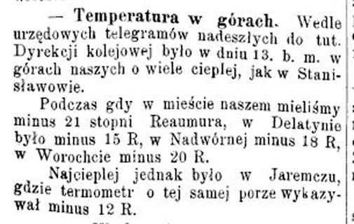 Станиславівські оголошення: як мешканці міста сто років тому погоду передбачали 1