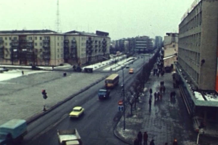 """""""Оцифрований Франківськ"""": як працював драмтеатр у 1982 році (відео)"""