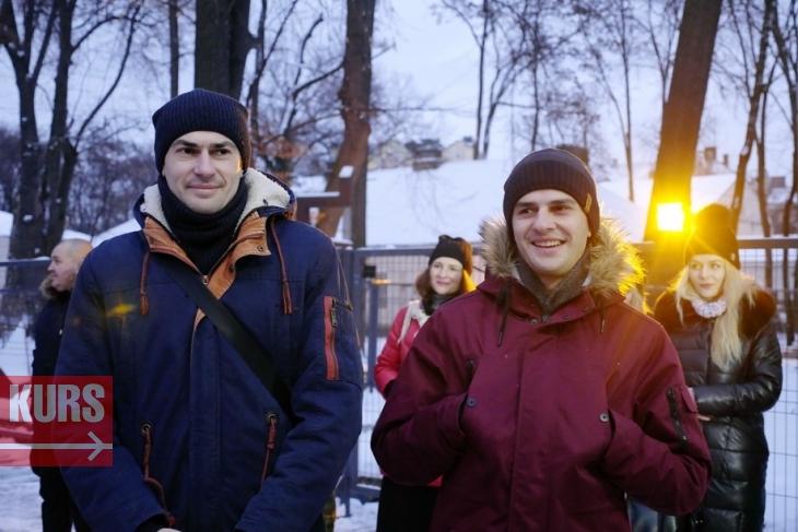 У Палаці Потоцьких розпочали різдвяну коляду. ФОТО, ВІДЕО 1