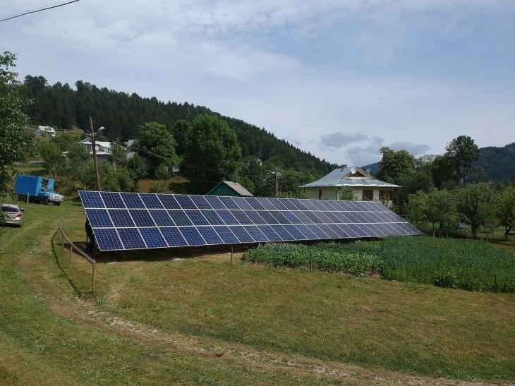Сонячну електростанцію потужністю 20 кВт змонтовано в Красноїллі. ФОТО 4