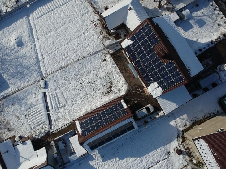 Сонячну електростанцію 20 кВт змонтовано в Ланчині 1