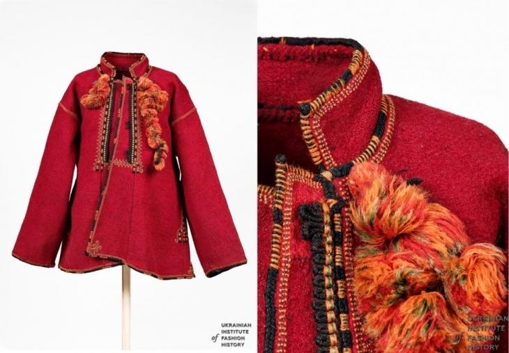 Чоловічий святковий верхній одяг - сардак. Початок ХХ століття.  Івано-Франківська область baf150ccee1e9