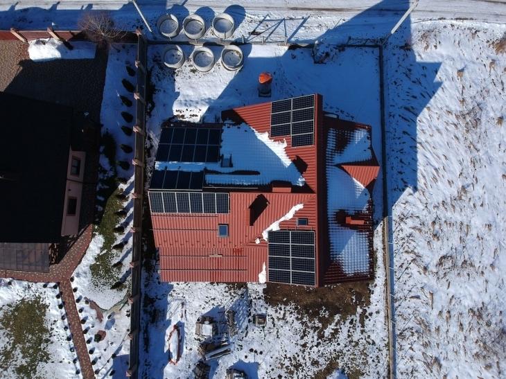 Сонячну електростанцію 12 кВт встановлено в Драгомирчанах 1