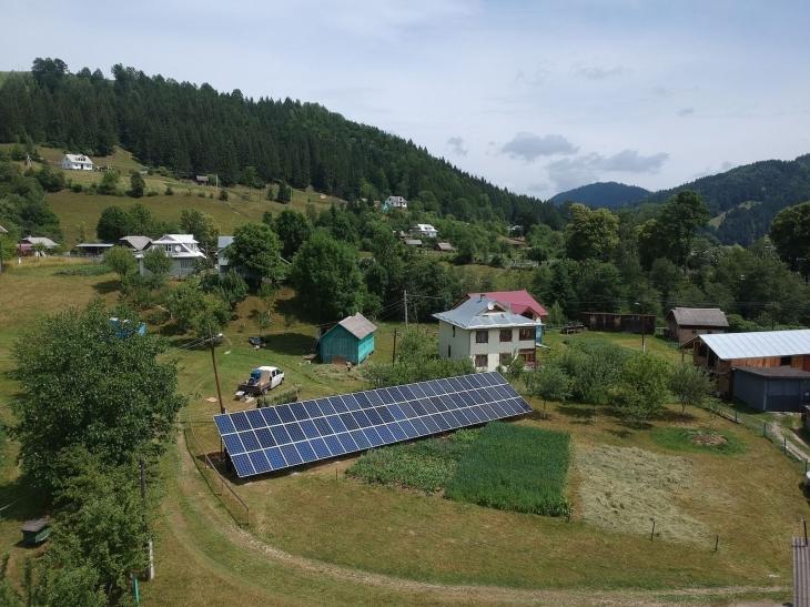 Сонячну електростанцію потужністю 20 кВт змонтовано в Красноїллі. ФОТО 2
