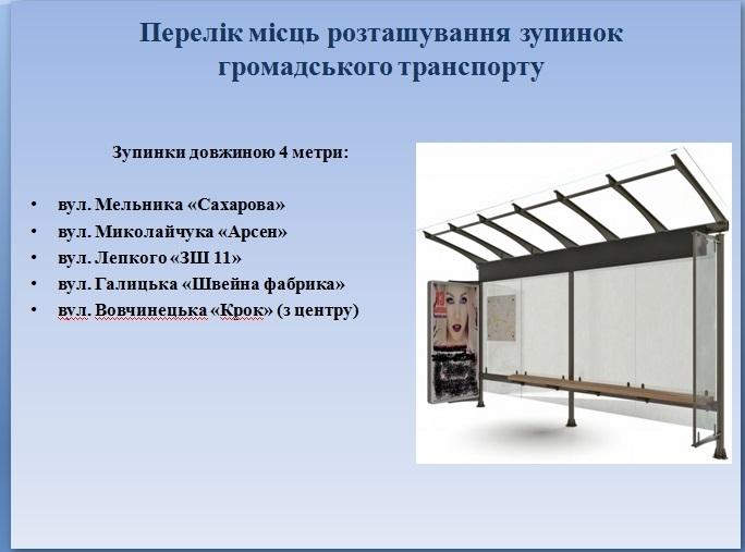 У Франківську встановлять 26 нових зупинок. АДРЕСИ 3