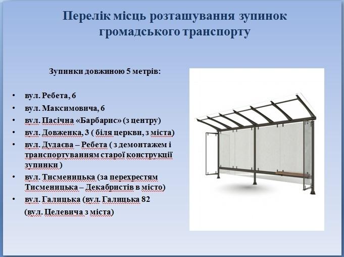 У Франківську встановлять 26 нових зупинок. АДРЕСИ 2