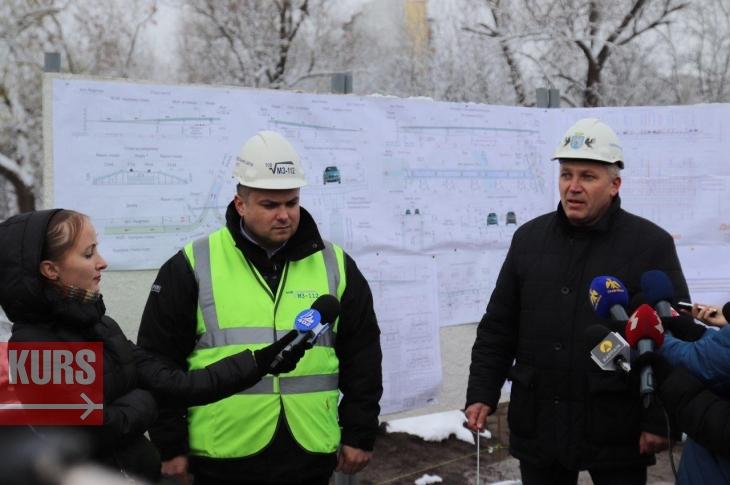 Марцінків показав, якою буде розв'язка Галицького моста на Надрічній: активісти назвали недоліки. ФОТО, ВІДЕО 3