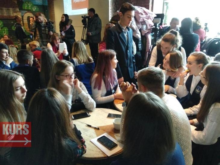 Учнівські команди Франківська представили свої ідеї соціальних проектів (відеосюжет)