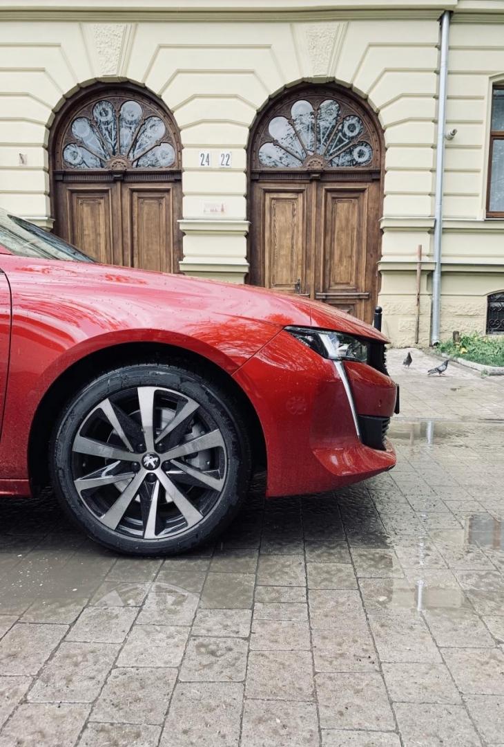 Спортивний преміум і футуризм: тест-драйв NEW Peugeot 508 на франківських дорогах. ФОТО 4