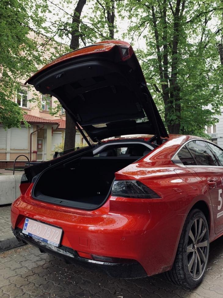 Спортивний преміум і футуризм: тест-драйв NEW Peugeot 508 на франківських дорогах. ФОТО 10