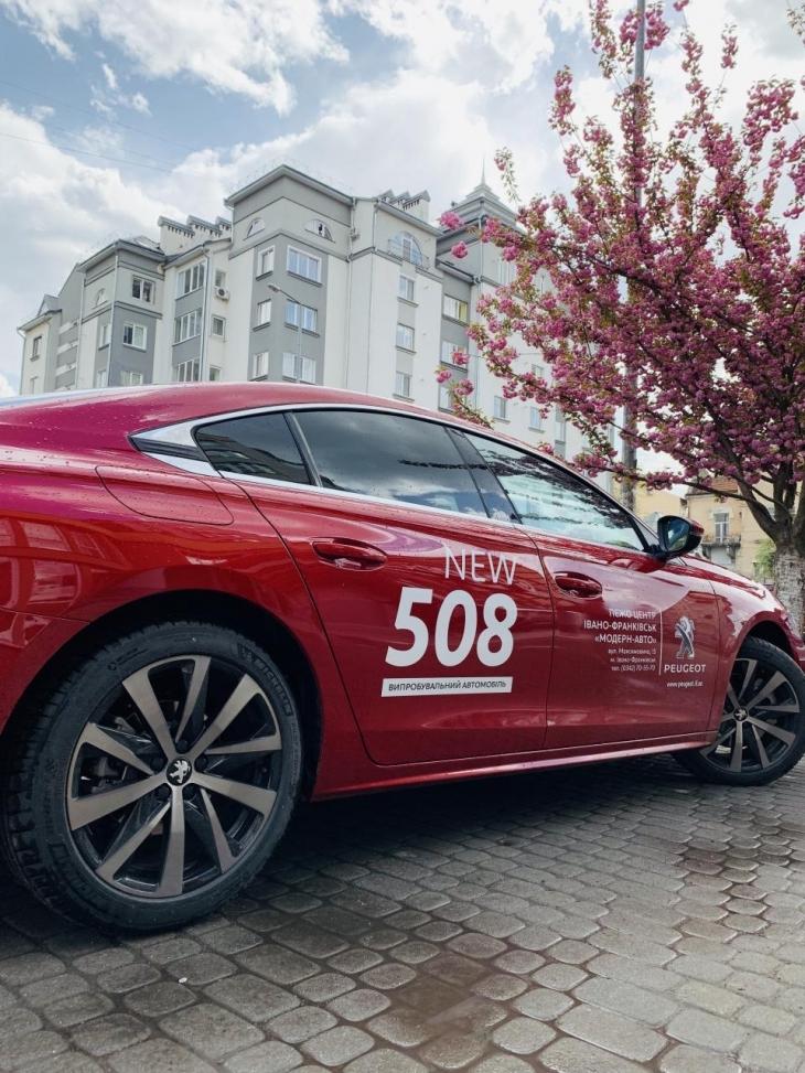 Спортивний преміум і футуризм: тест-драйв NEW Peugeot 508 на франківських дорогах. ФОТО 16