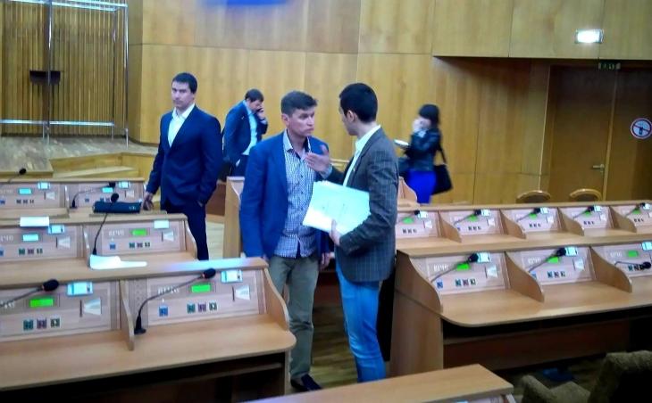 Роман Онуфріїв і Мстислав Тарас так і не дійшли згоди щодо співфінансування ОСББ,