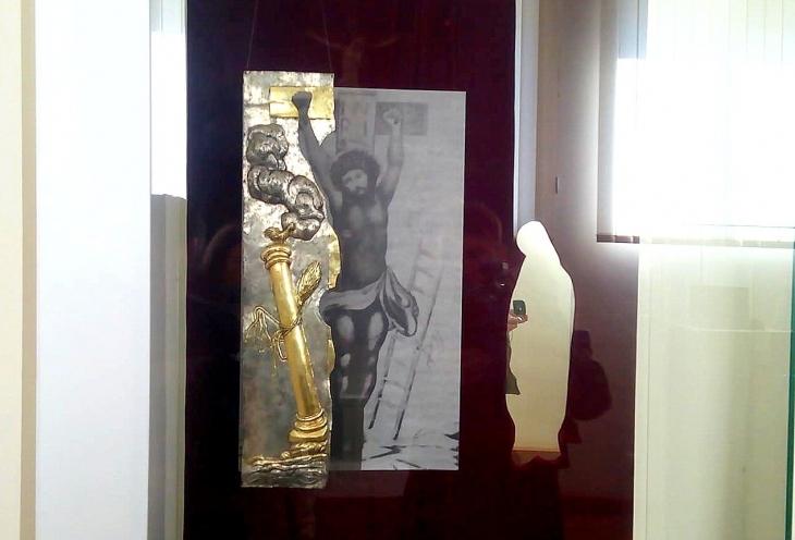 """Результат пошуку зображень за запитом """"Унікальну срібну ризу чудотворної ікони презентували у Краєзнавчому музеї"""""""