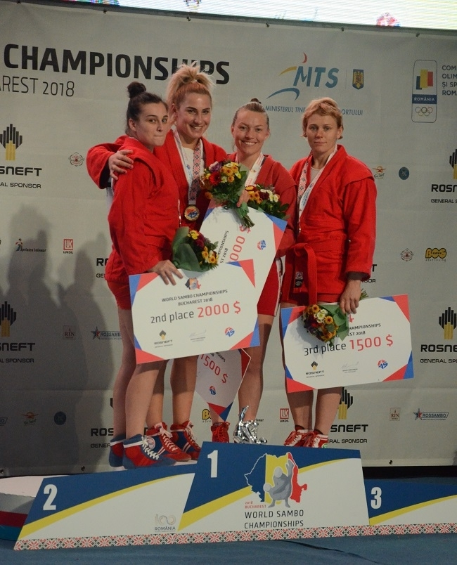 Прикарпатські самбістки завоювали срібло й бронзу на чемпіонаті світу. ФОТО 1