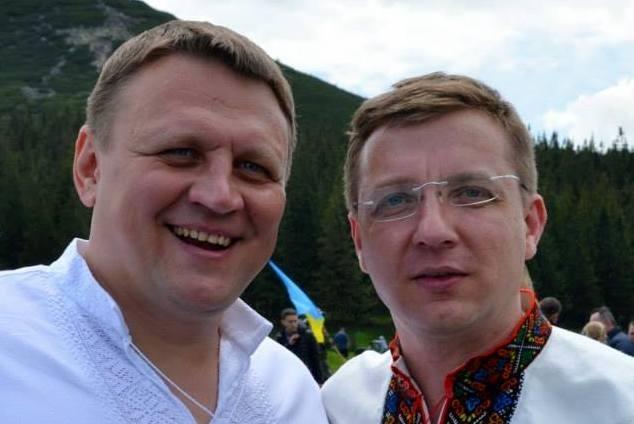 Олександр Шевченко і Микола Палійчук