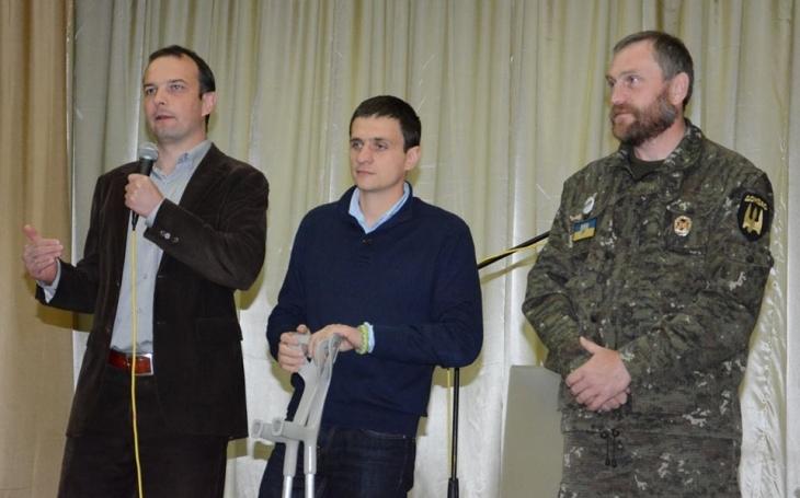 Єгор Соболєв, Петро Шкутяк, Ігор Чайковський.
