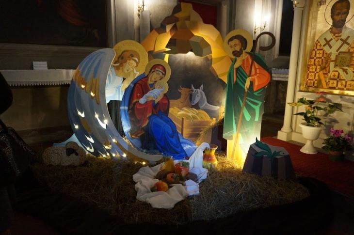 Різдвяна шопка з Надвірної прикрасила храм у Флоренції. ФОТО, ВІДЕО 3