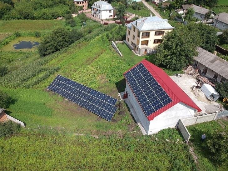 Сонячну електростанцію потужністю 30 кВт змонтовано в Городенці 1