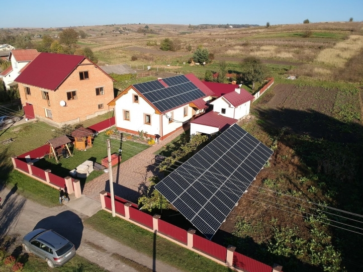 Сонячну електростанцію 30 кВт змонтовано в Гончарівці 1