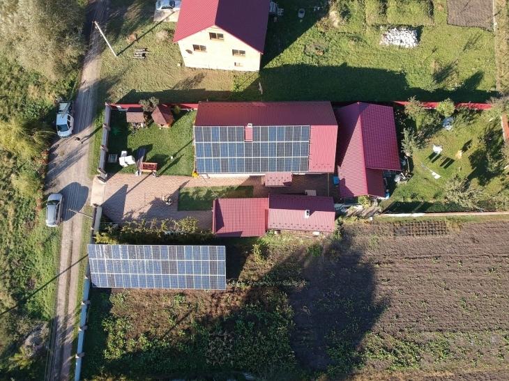 Сонячну електростанцію 30 кВт змонтовано в Гончарівці 2