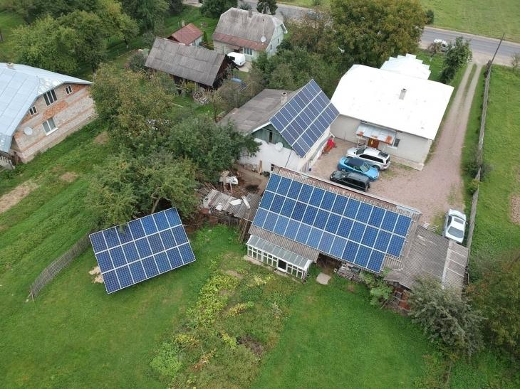 Сонячна станція в Герині зароблятиме для господаря майже 6 тис. євро на рік 2