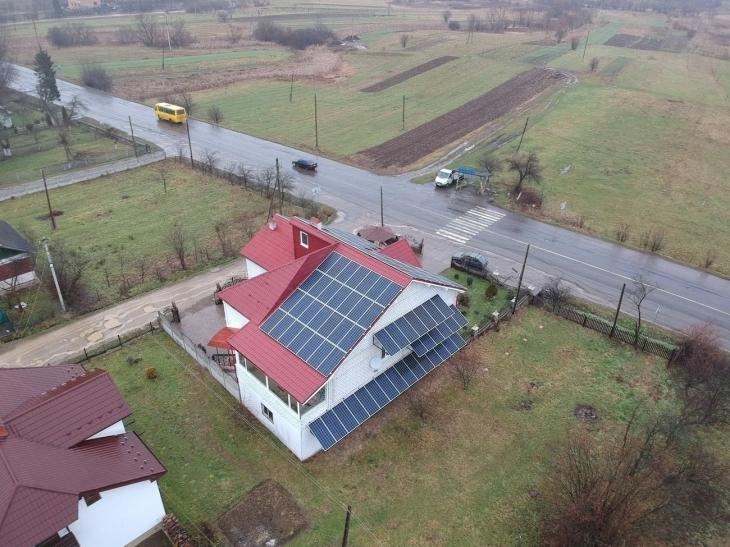 Сонячну електростанцію 35 кВт змонтували в Герині. ФОТО 2