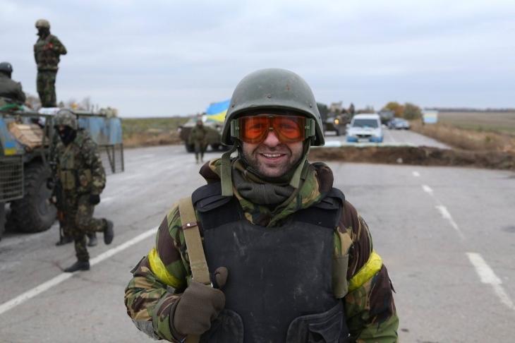 """Доброволець """"Айдару"""" Андрій Стандіо."""