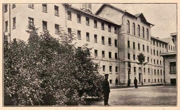 Карно-слідча тюрма по вул. Білінського.