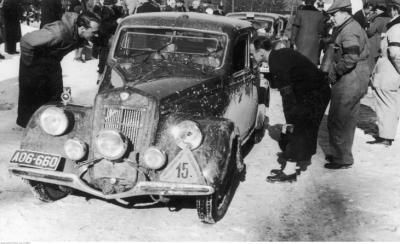 Автомобіль Яна Ріппера.
