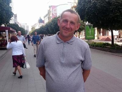 Доброволець 5-го батальйону територіальної оборони Олег Кудрик.