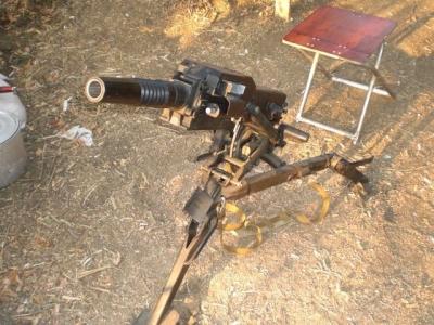 Трофейна зброя, яку група привезла і здала у Франківську.