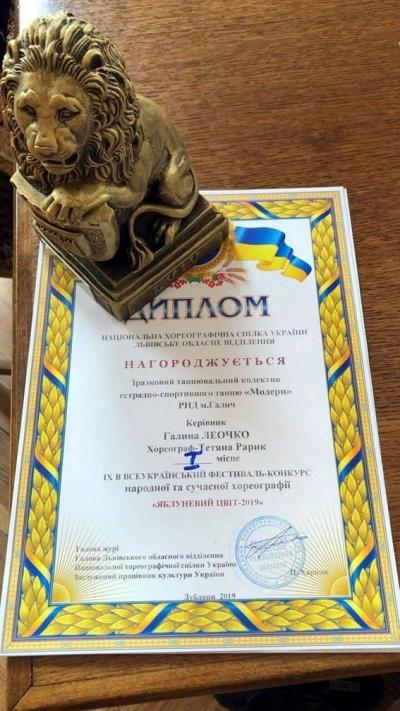 Юні танцюристи з Галича завоювали першість на всеукраїнському фестивалі