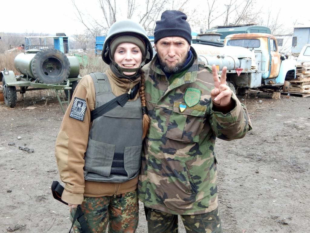 """Боєць """"Азову"""" Наталія Коцкович: """"Я приїхала в """"Азов"""" не розважатись, не чоловіка собі шукати, а воювати. Зціпила зуби і доводила це своєю поведінкою"""" 2"""