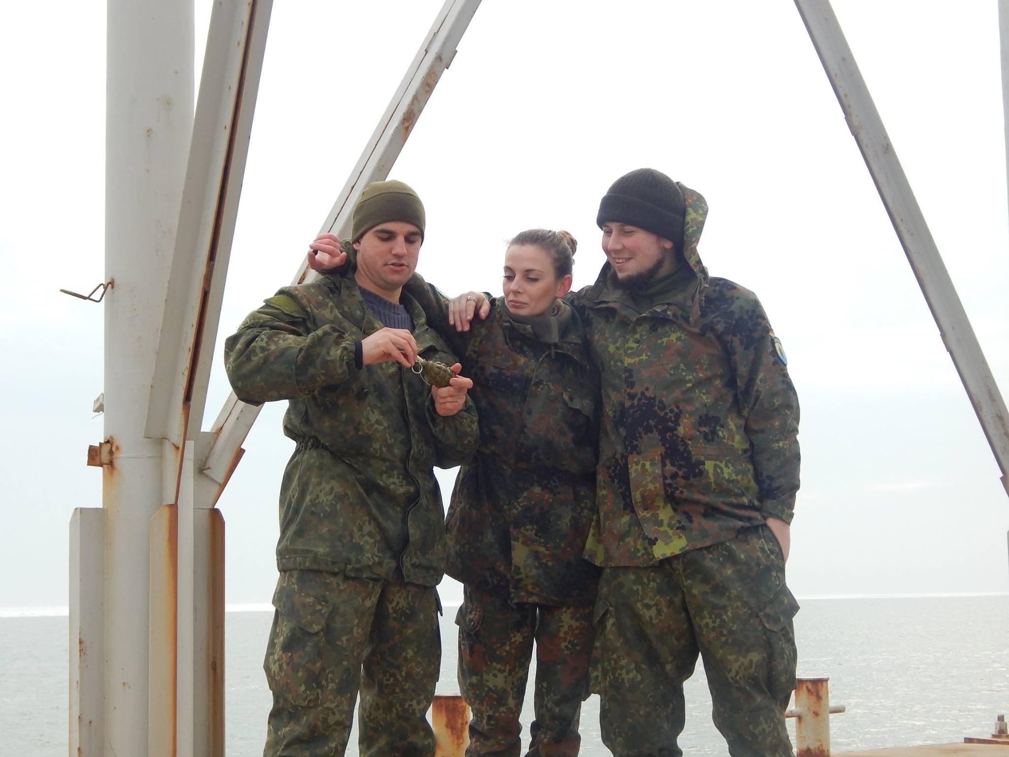 """Боєць """"Азову"""" Наталія Коцкович: """"Я приїхала в """"Азов"""" не розважатись, не чоловіка собі шукати, а воювати. Зціпила зуби і доводила це своєю поведінкою"""" 5"""
