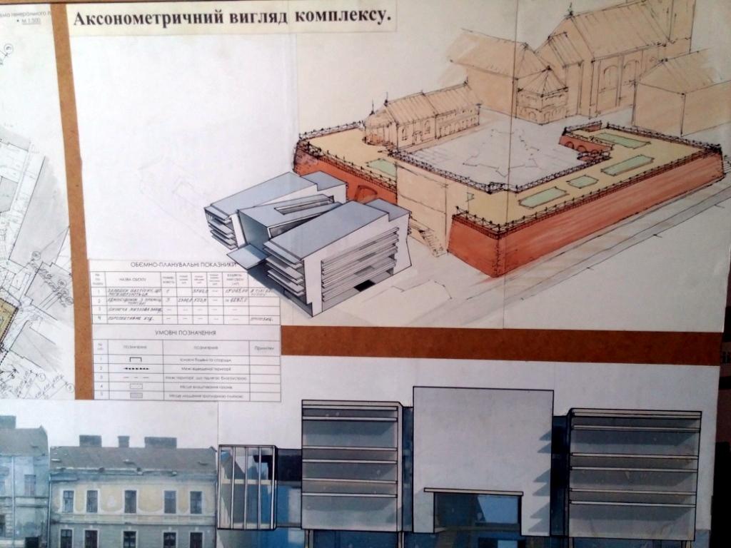 """Проект будівлі перед """"Бастіоном"""" – не остаточний, нас цікавить думка громади і експертів, – Олег Заріцький 1"""