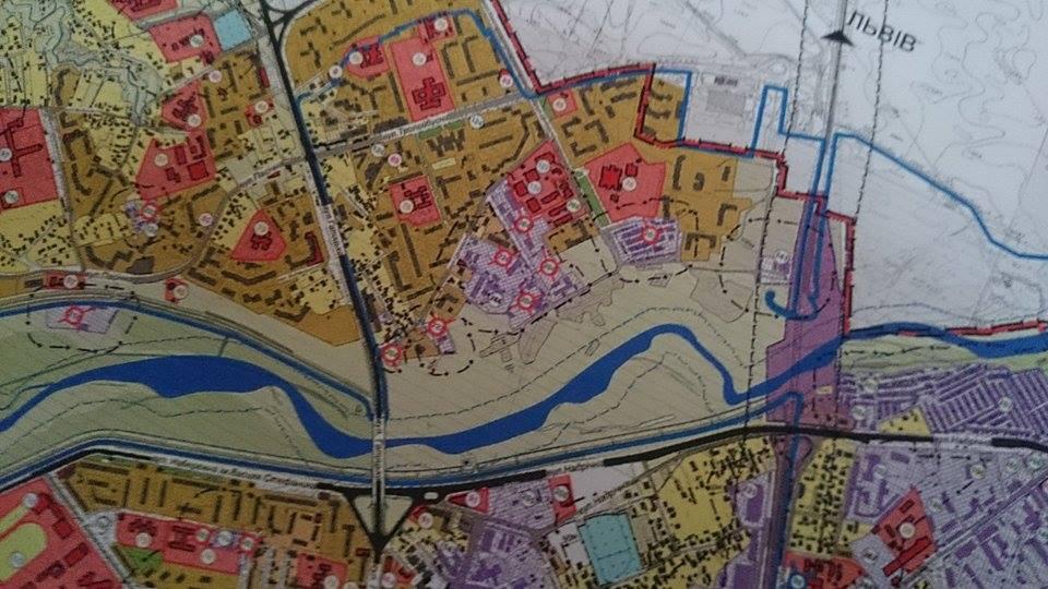 Територію житлової забудови вздовж берега Бистриці Солотвинської у Франківську перевели під парк 2