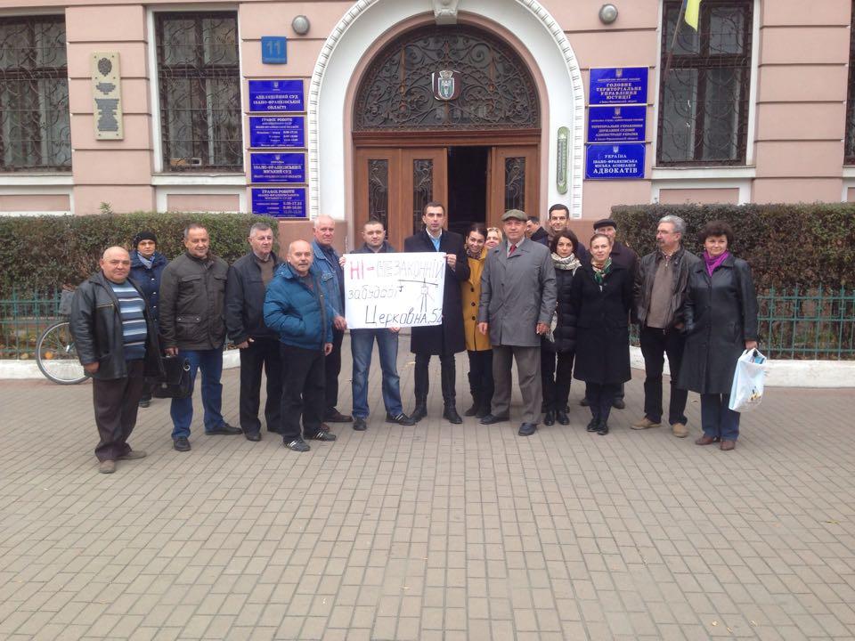 Новообрані депутати міськради разом з громадою вимагають скасування незаконної забудови 2