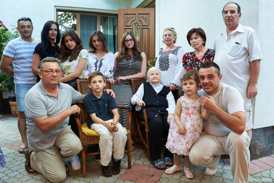 Стефанія Ворончак із Франківська відзначила 100-літній ювілей 2