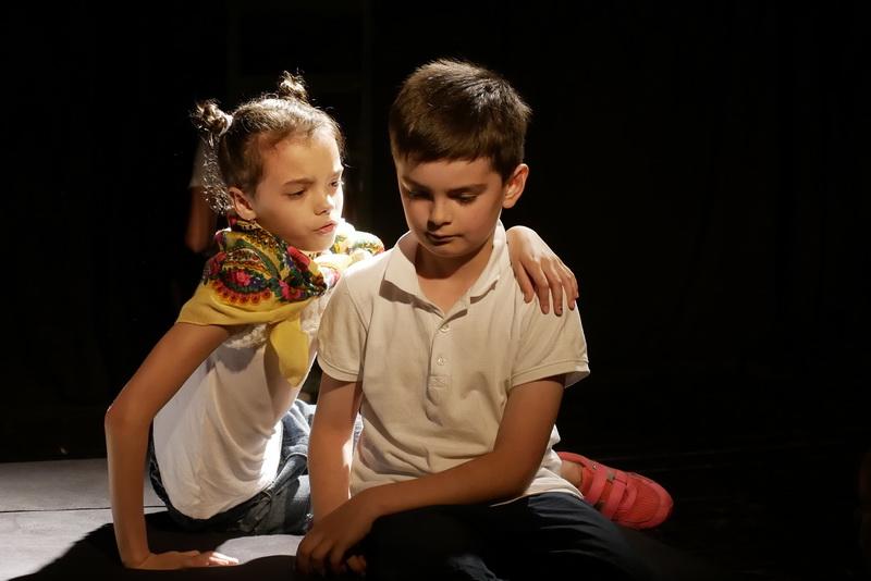 """Дитяча театральна майстерня"" у Франківську показала виставу про бабая Йохана 6"